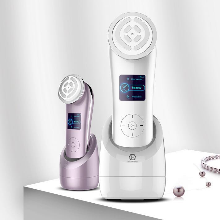 Japan Technology beauty device nanoskin RF face lifting and rejuvenating device